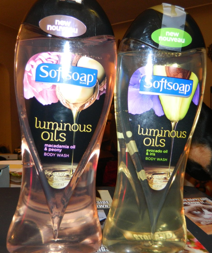 Softsoap Body Wash - Luminous Oils