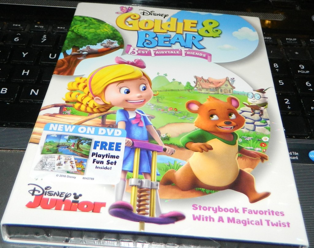 Goldie & Bear: Best Fairytale Friends DVD