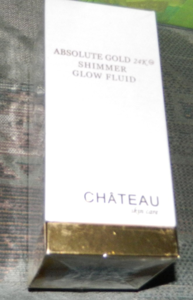 Chateau Skincare Absolute Gold 24K Shimmer Glow Fluid