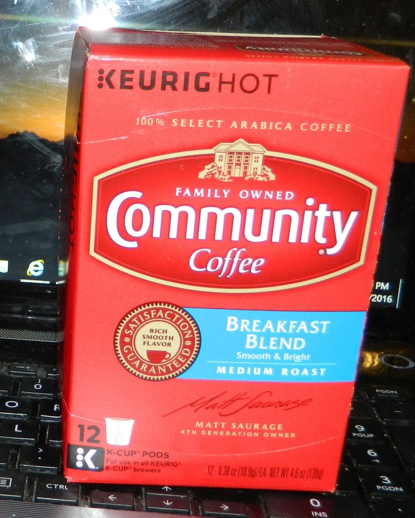 Community Coffee Single-Serve Cups, Breakfast Blend, 12 Count