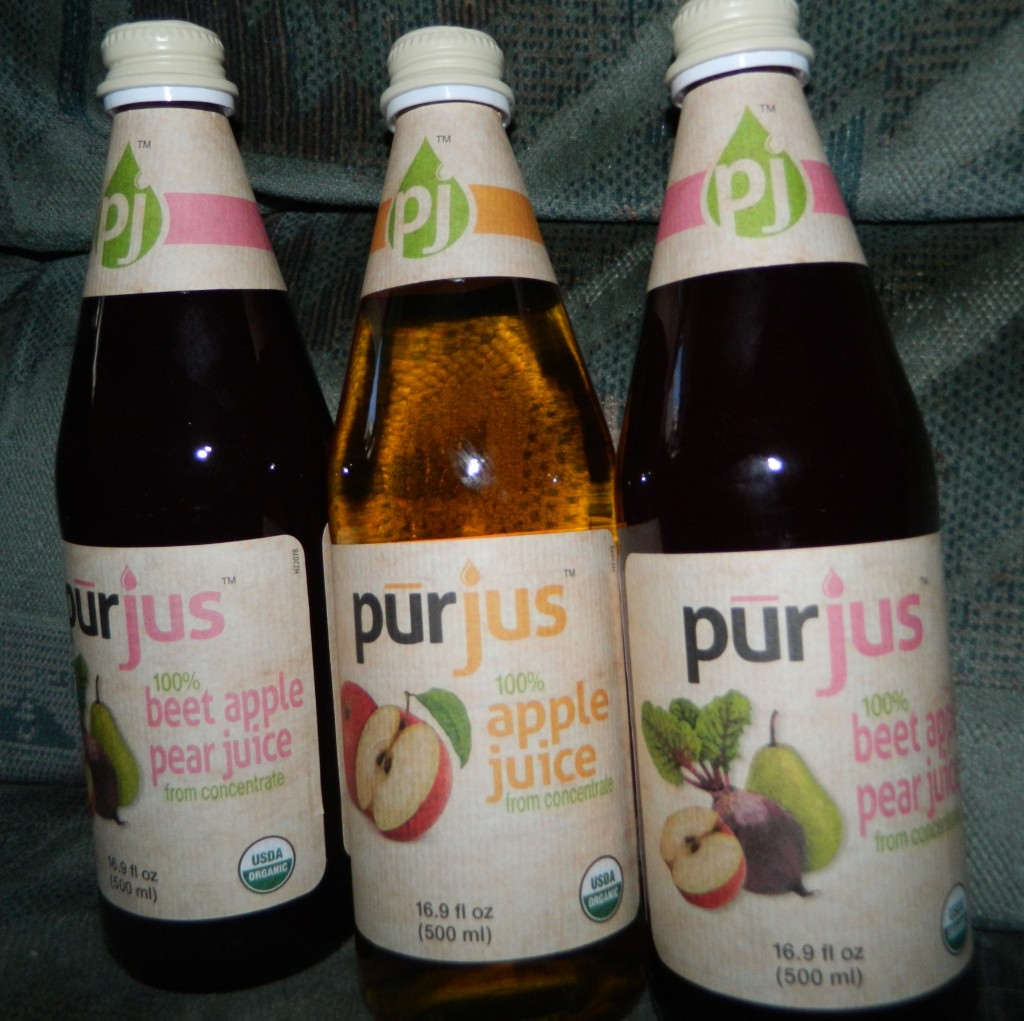 Pūrjus, 100% fruit and vegetable juices