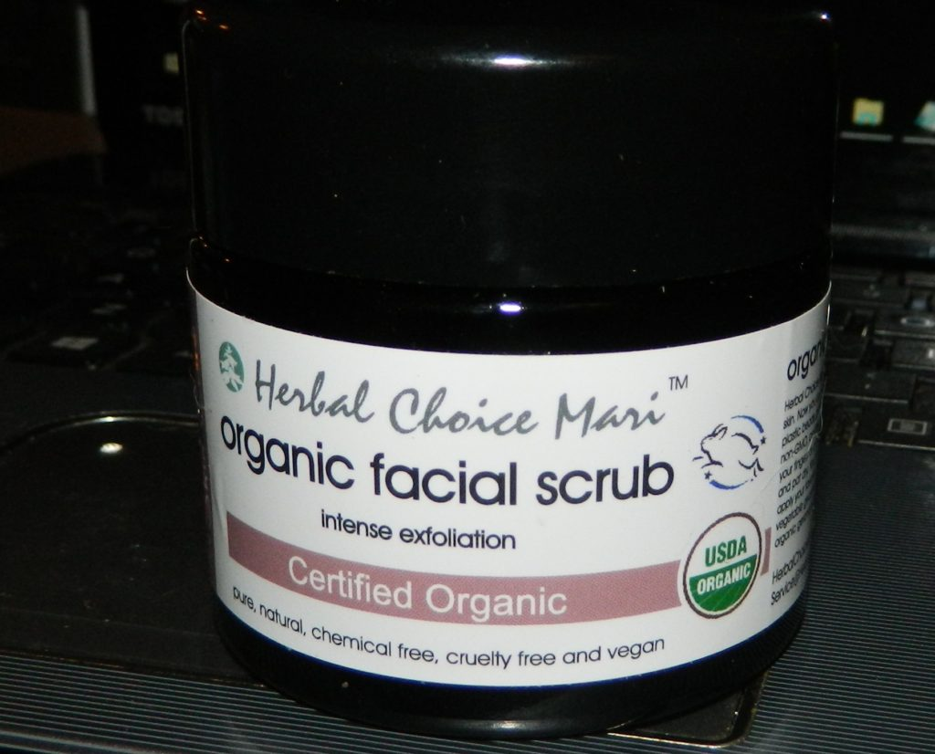Herbal Choice Mari Facial Scrub Intense Exfoliate 4.4oz Jar