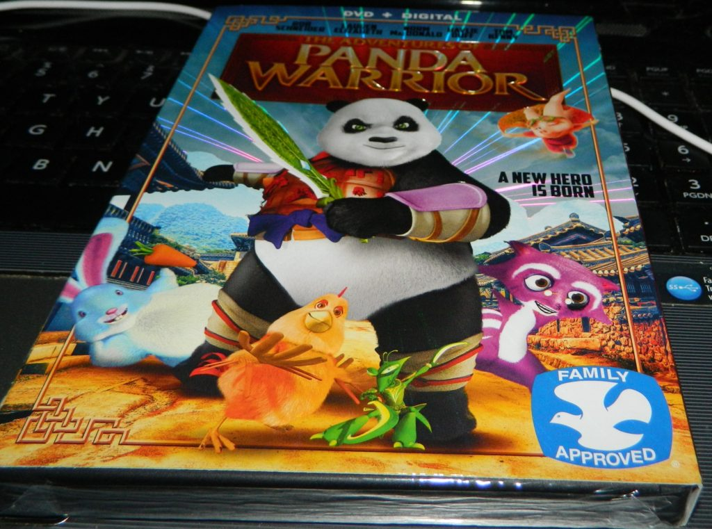 The Adventures of Panda Warrior [DVD + Digital]