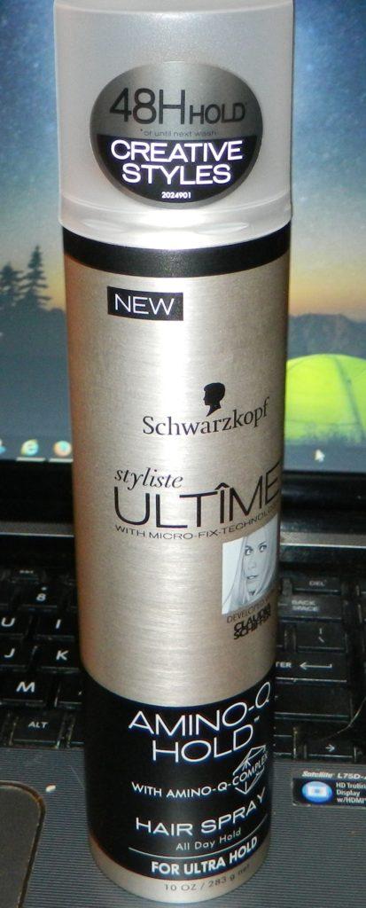 Schwarzkopf Styliste Ultime Amino-Q Hairspray 10oz