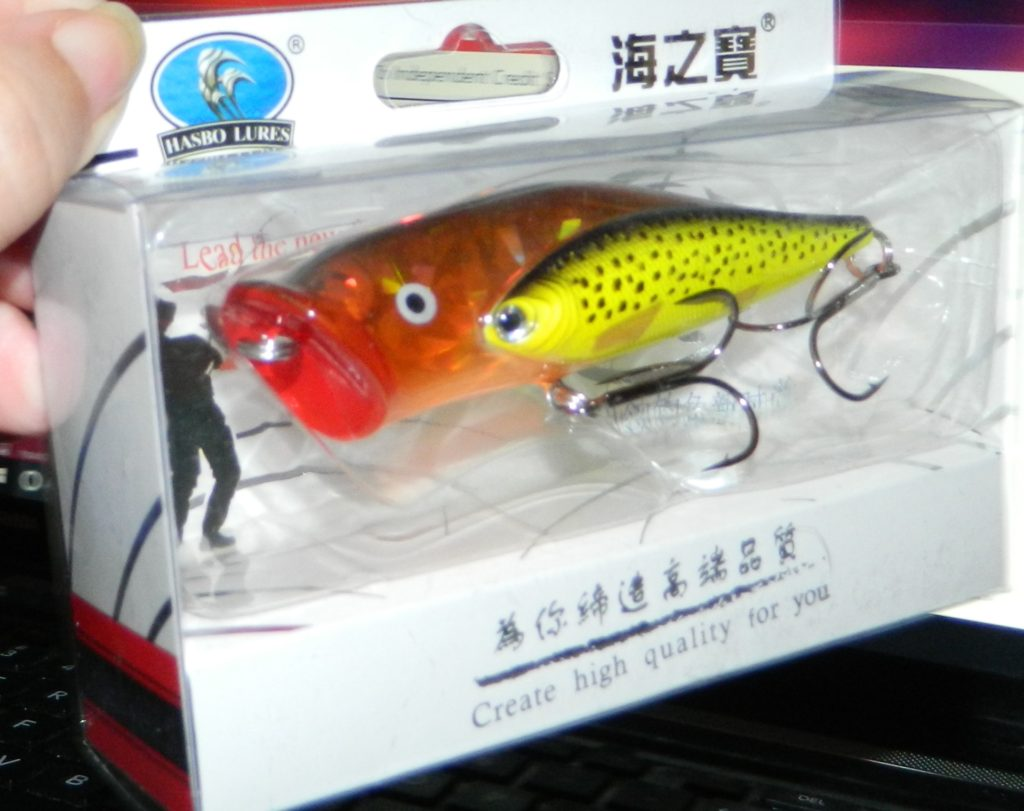 Rose Kuli 2 in 1 Fishing Topwater Hard Lure