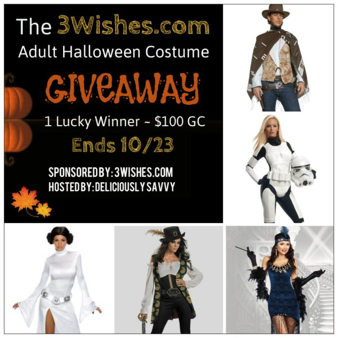 The 3Wishes.com Adult Halloween Costume Giveaway