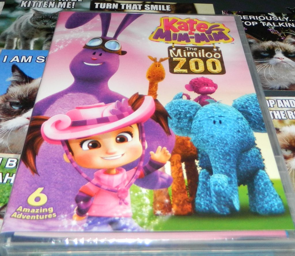 Kate & Mim-Mim: The Mimiloo Zoo DVD
