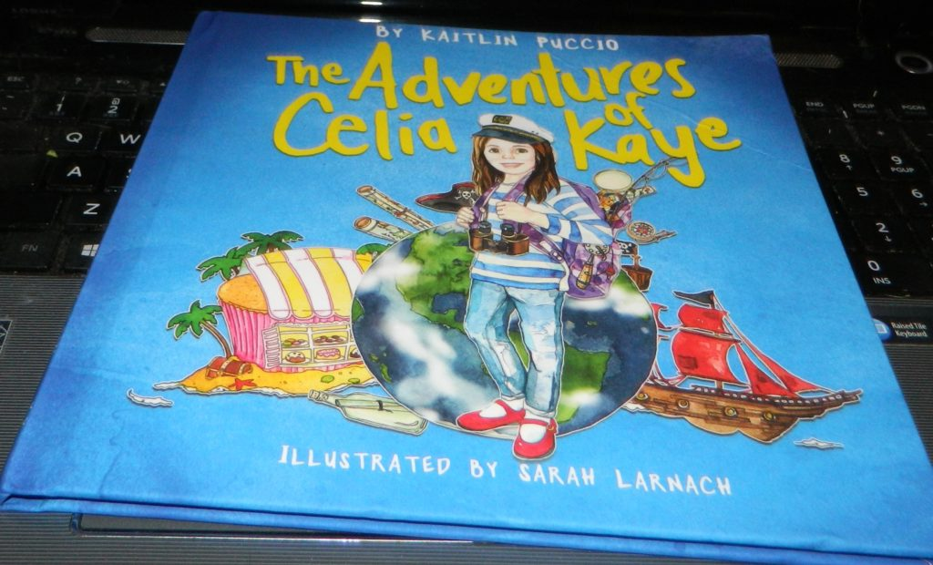 The Adventures of Celia Kaye Hardcover Book