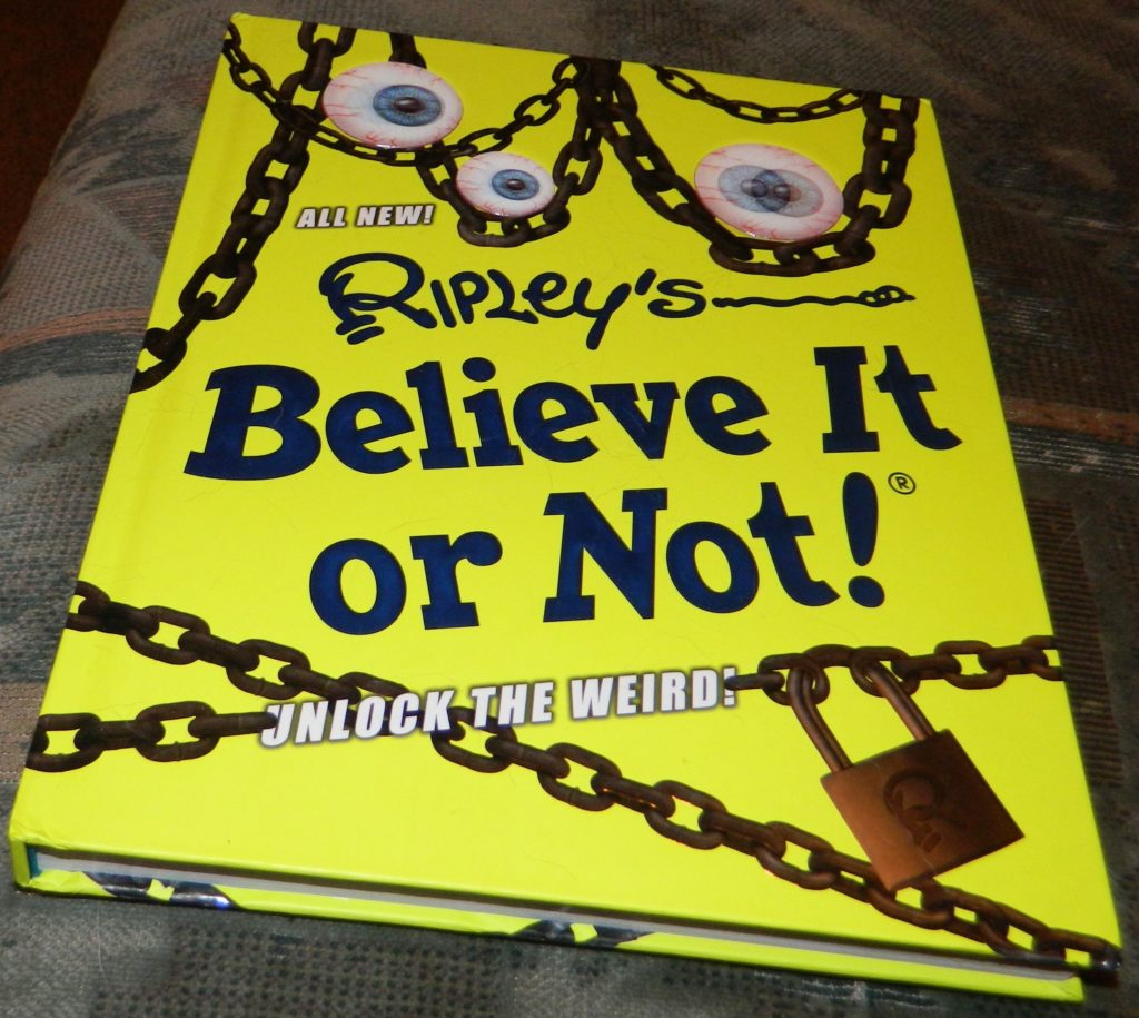 Ripley's Believe It Or Not! Unlock The Weird! Hardcover