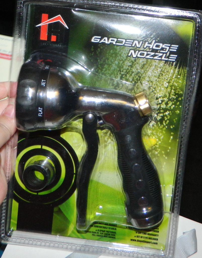 Garden Hose Nozzle for the home