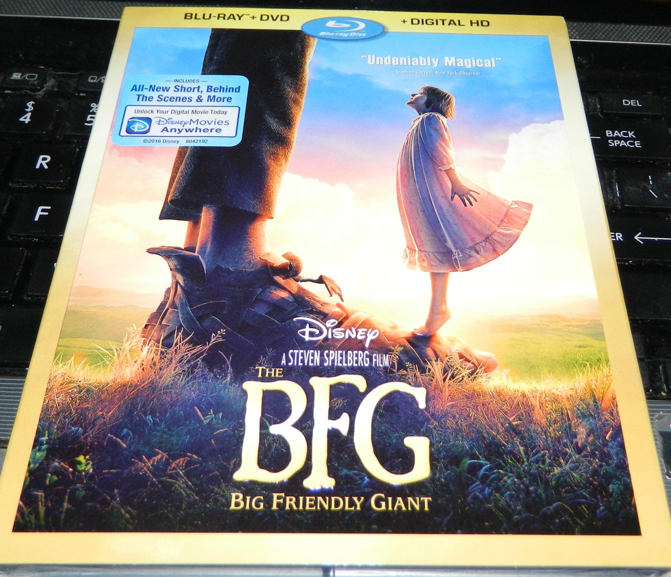 The BFG DVD