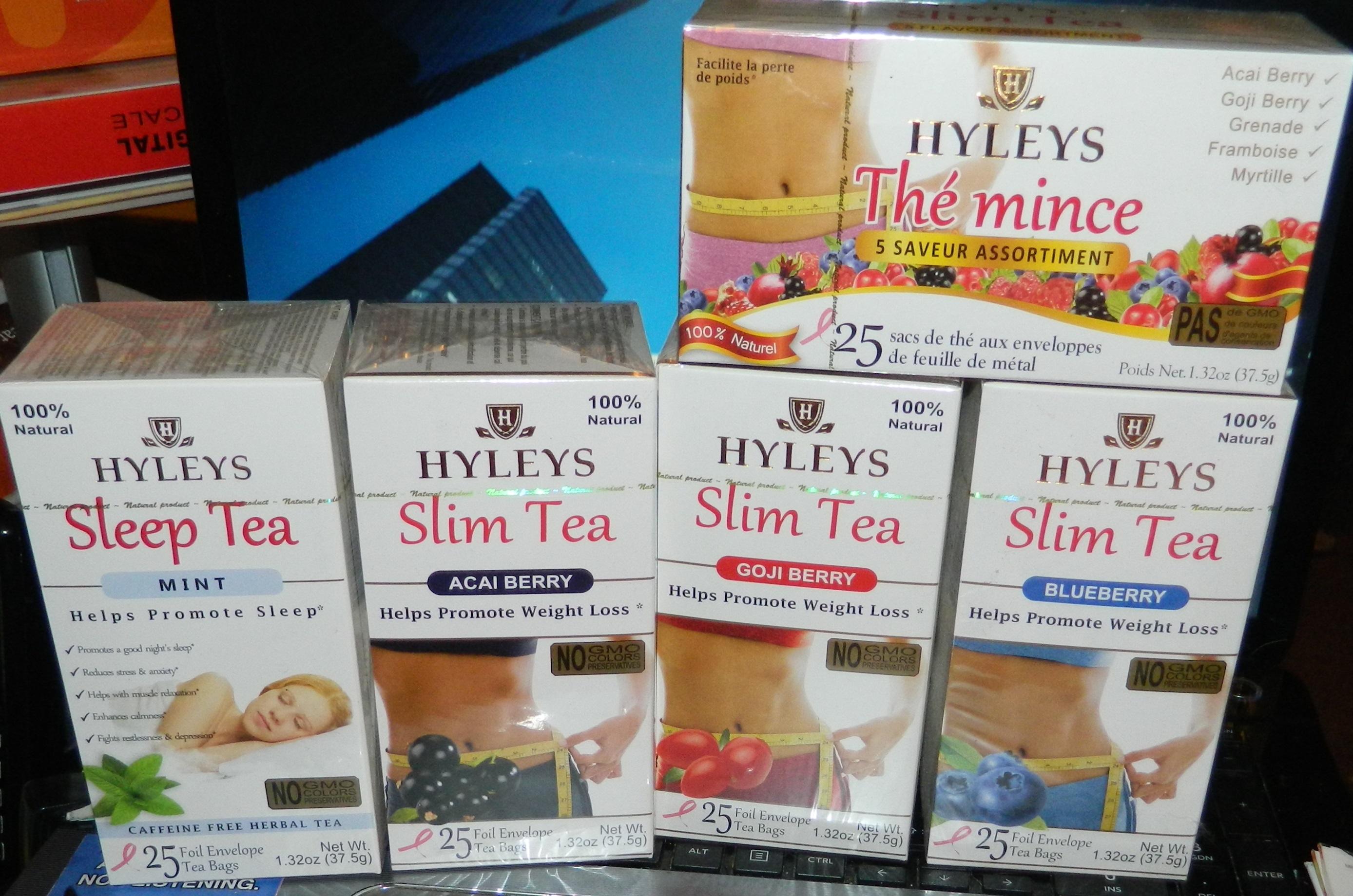 Drink Hyleys Tea