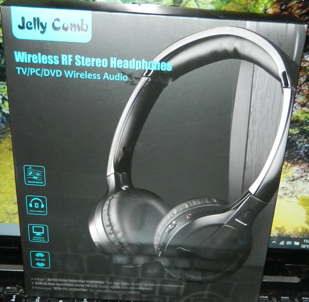 Home or Office ireless TV Headphones