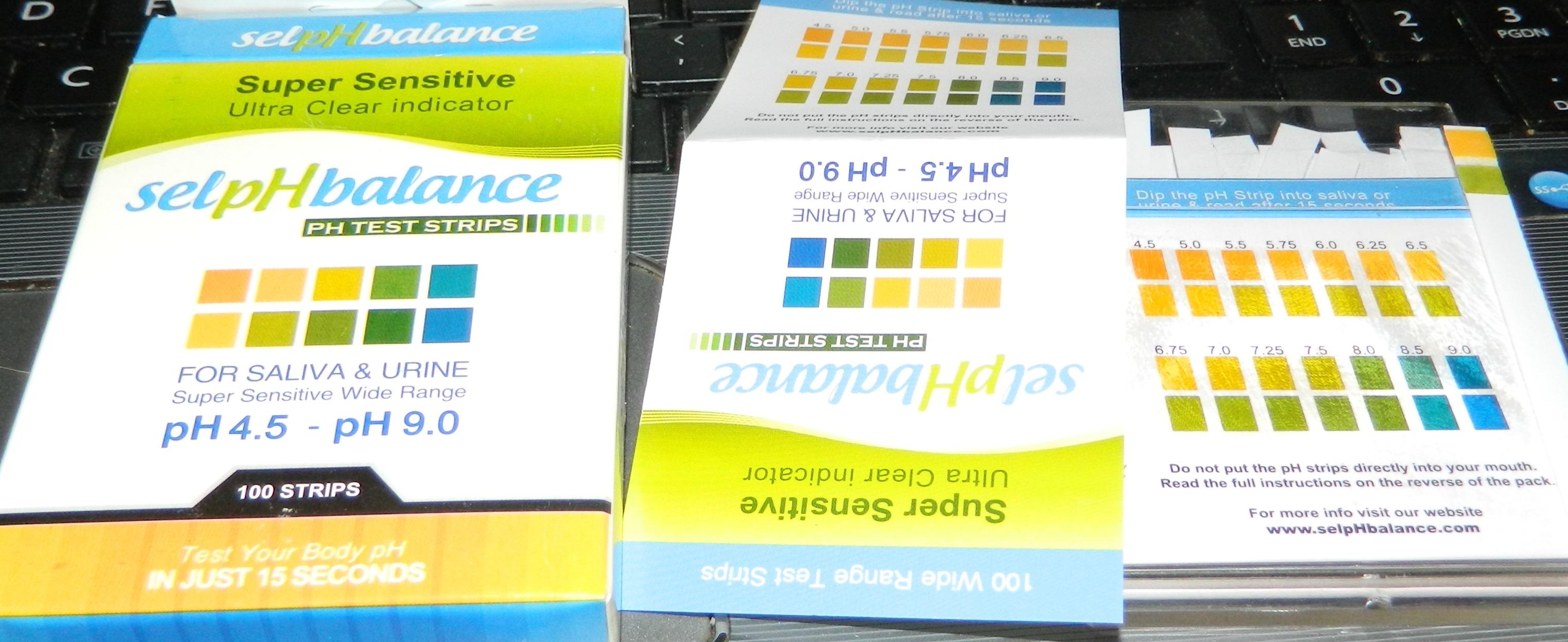 SelpHbalance pH Test Strips