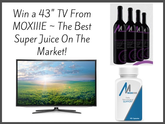 """Win a 43"""" TV From MOXIIIE 3/3/17"""