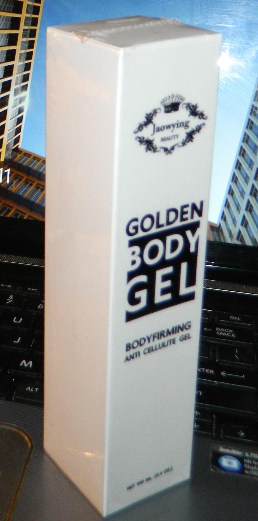 Golden Anti Cellulite Gel